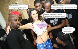 Valentina Nappi si fa 10 cazzi neri
