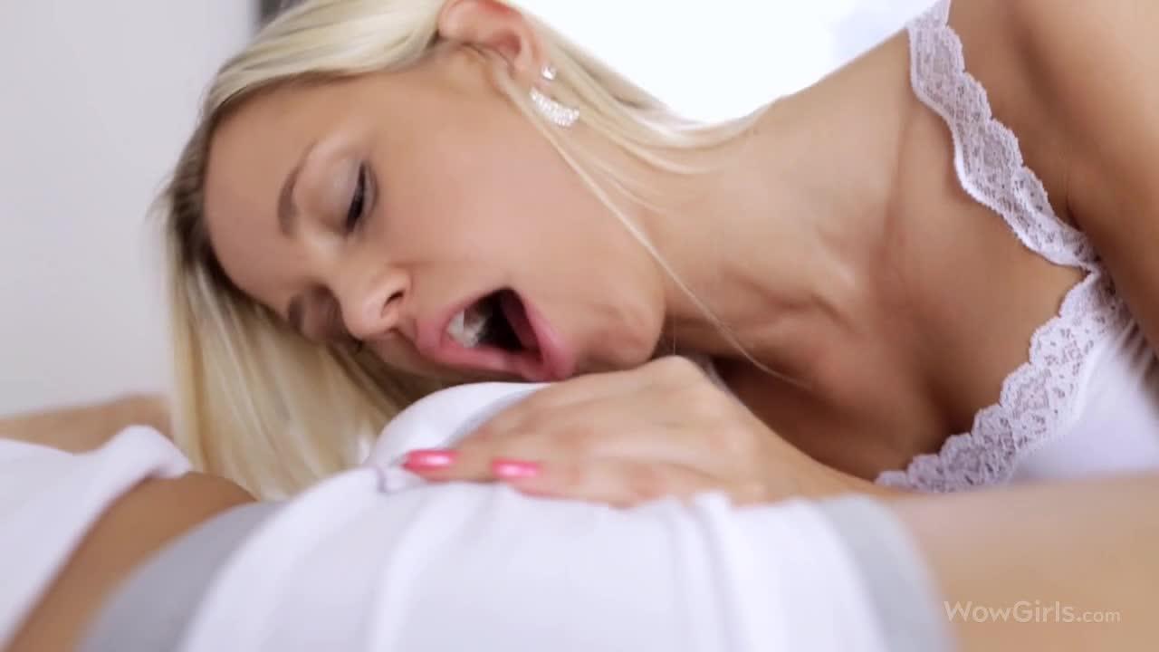 Woman peeing their pants