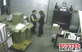 Sesso hard al lavoro